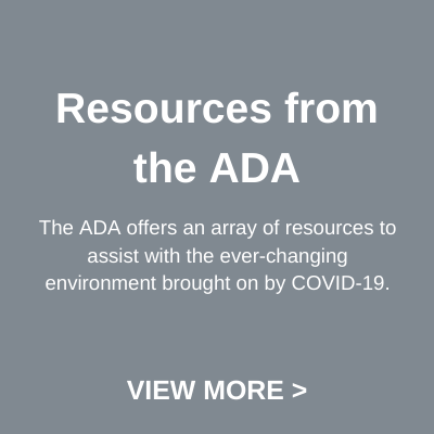 ADA resources button