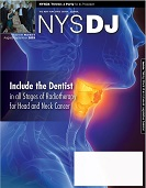 Cover of AugSept 2019 NYS Dental Journal