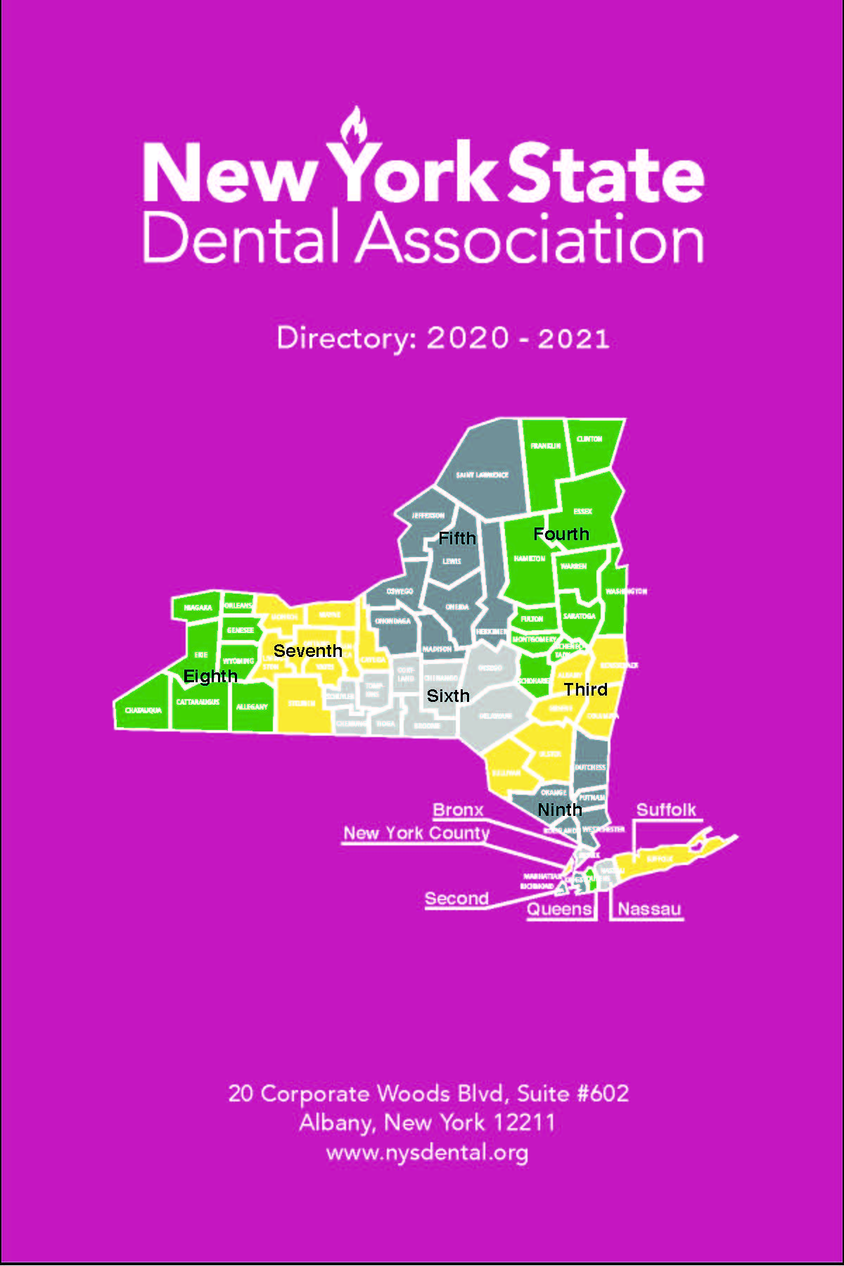 New York State Dental Association Leadership Directory 2020-2021