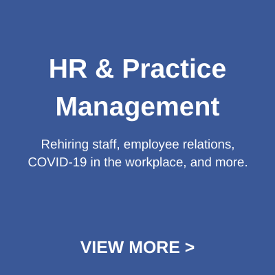 hr & practice management button