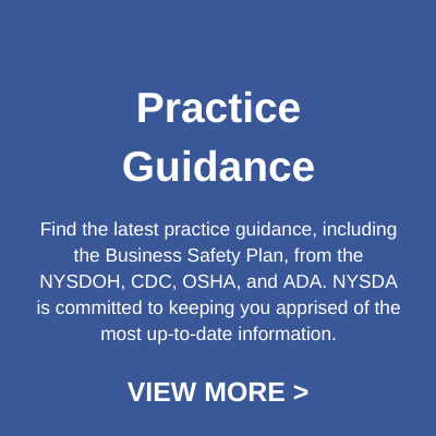 Practice Guidance button