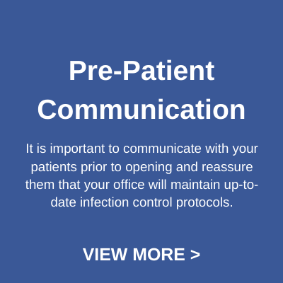 pre-patient communication button